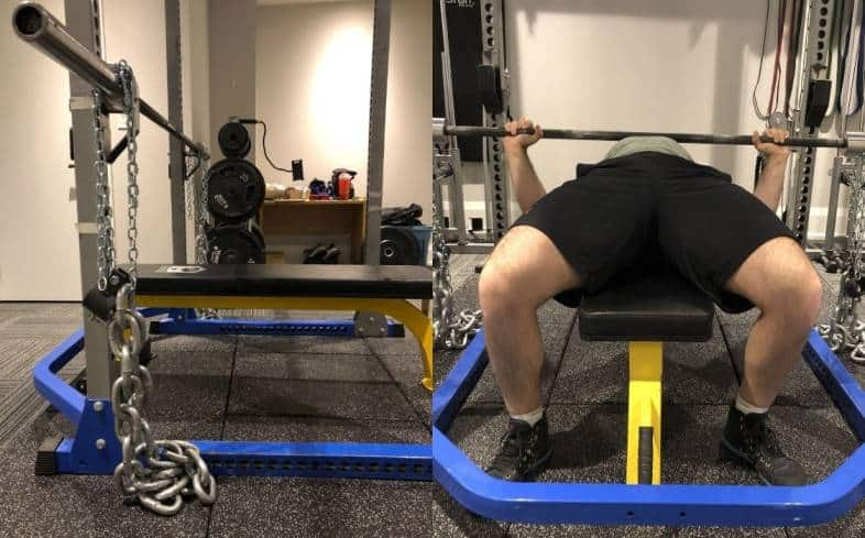 how to set-up chains when lifting