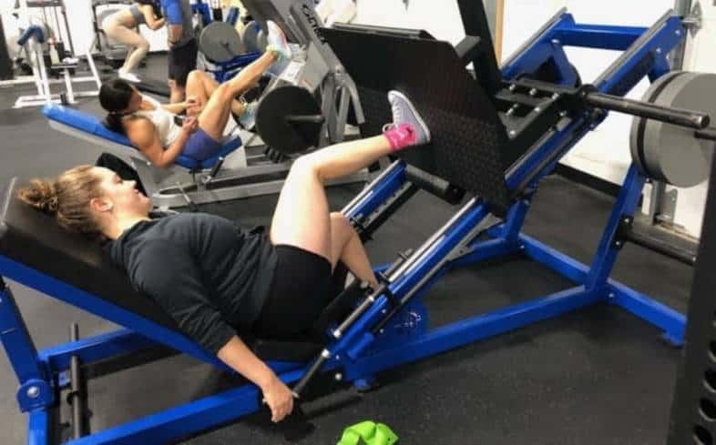 perform side lying leg presses to target your glutes more