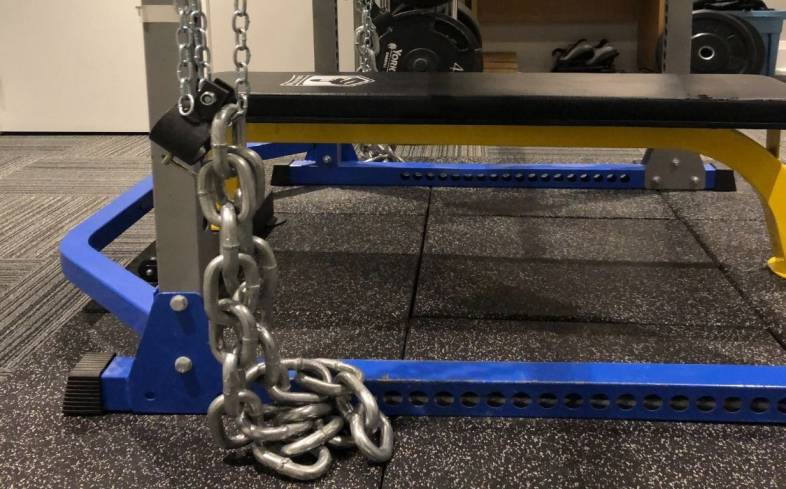 science of using chains for powerlifting