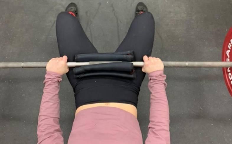 stiffen your torso hip thrust