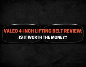 Valeo 4-Inch Lifting Belt Review