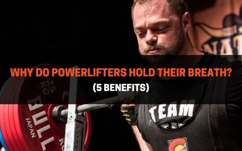 holding your breath when powerlifting helps to stabilize the spine while performing the exercises