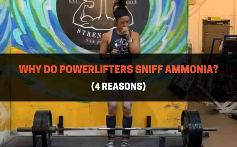 sniffing ammonia is reported to improve their alertness, focus, performance and potentially reduce lightheadedness and feelings of pain