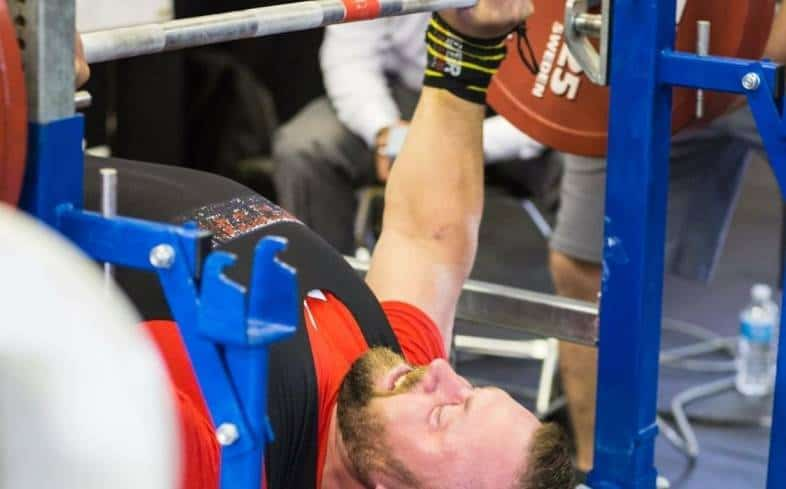 don't need to be strong at first powerlifting meet