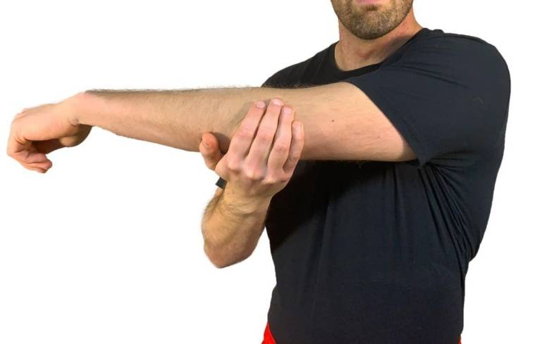 check the mobility of your shoulder joints