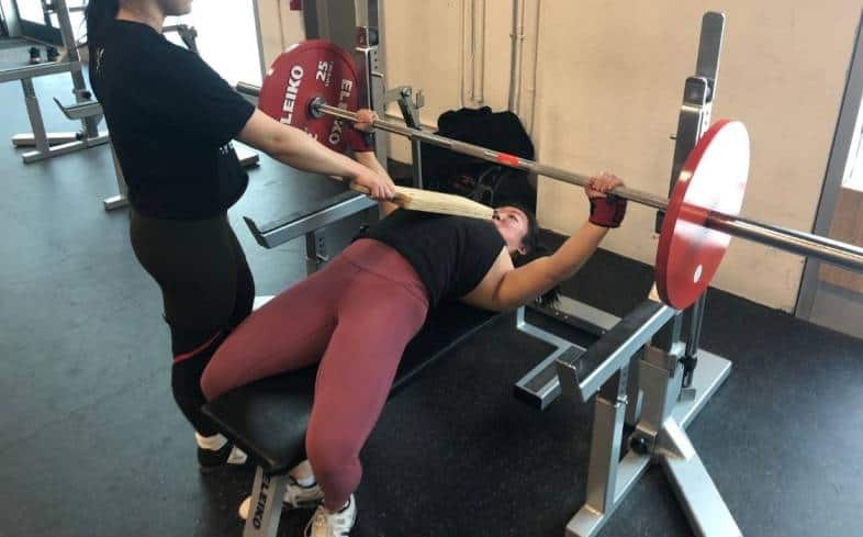 how to set up the 3-board bench press