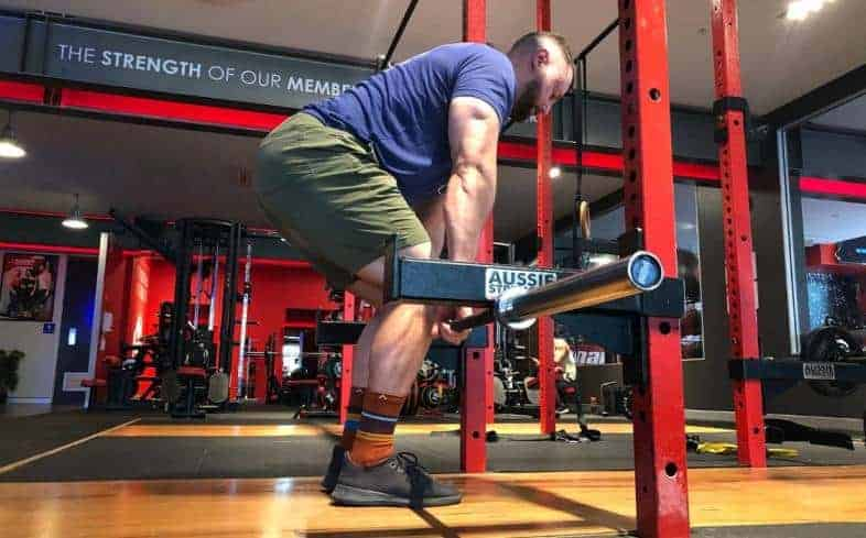 isometric training involves performing a lift against a fixed resistance while putting high effort into attempting to move it