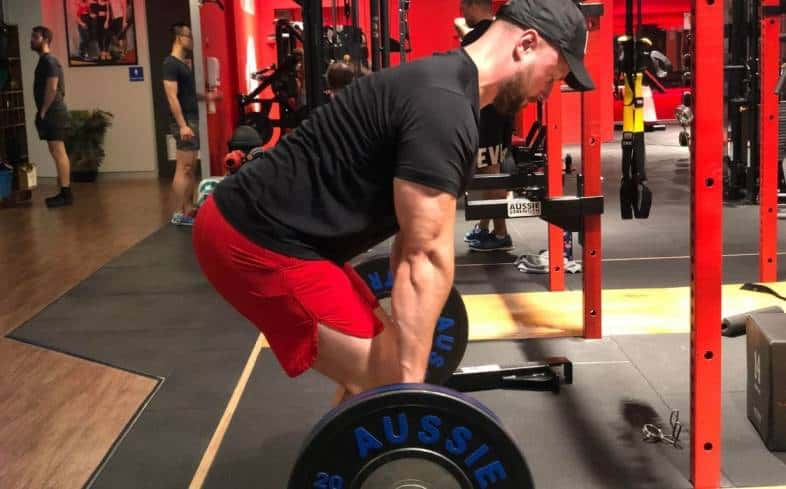 make sure you're adequately preparing the shoulder muscles for the deadlift