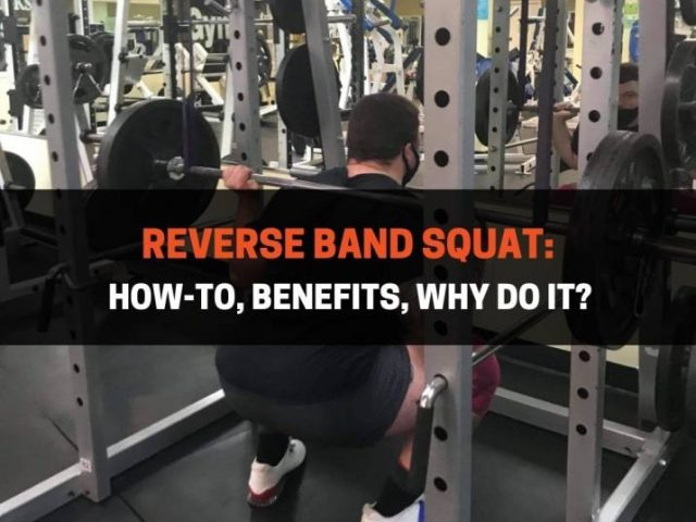 Reverse Band Squat: How-To, Benefits, Why Do It?