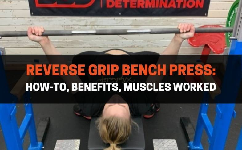 the reverse grip bench press is a barbell bench press variation that alternates the lifter's grip and has the knuckles point towards their feet