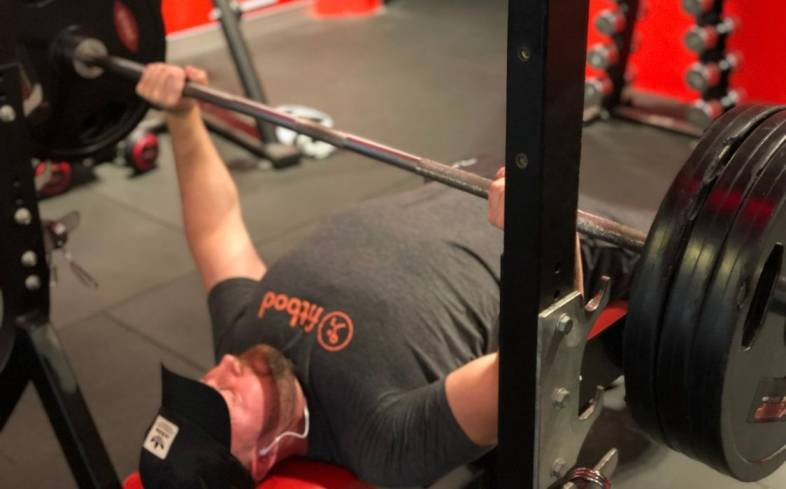 sample powerlifting chest workout