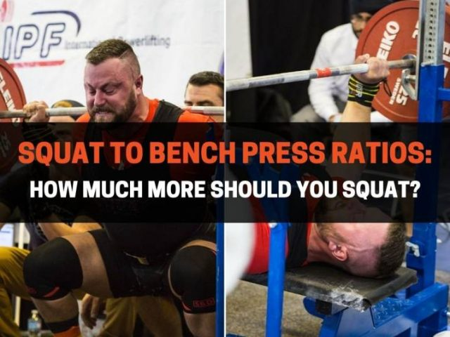 Squat to Bench Press Ratios: How Much More Should You Squat?