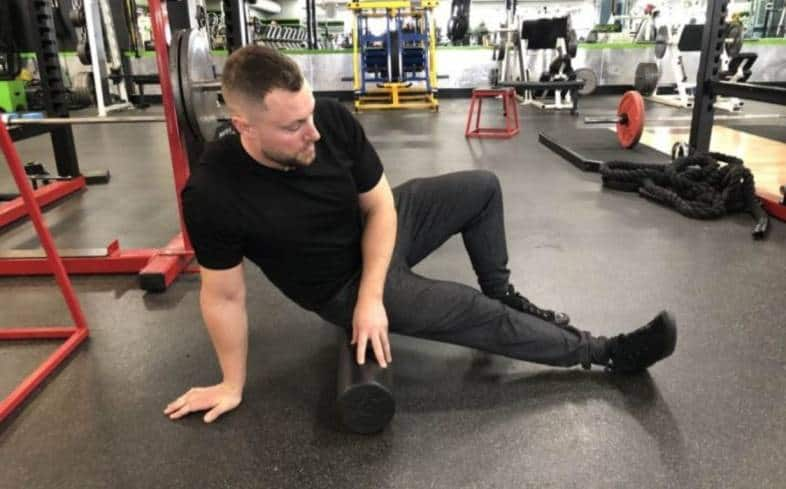 warm up your shoulders, wrists and thoracic spine