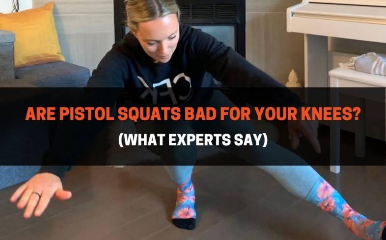 Are pistol squats bad for knees