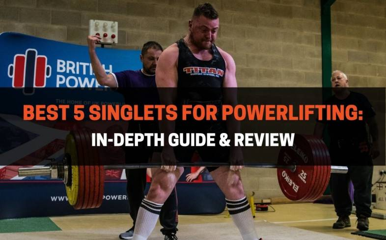 best 5 singlets for powerlifting