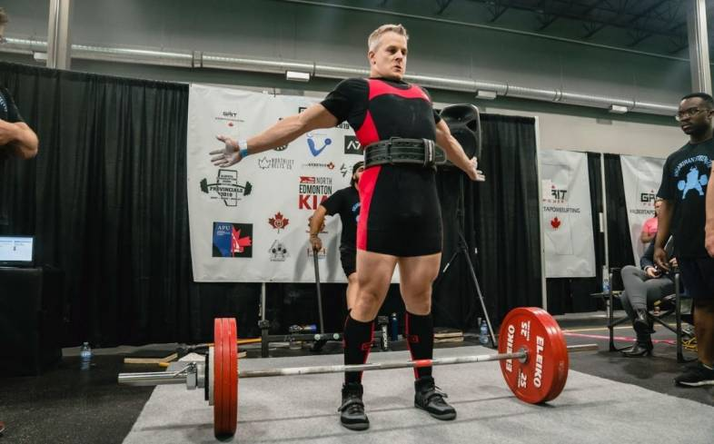 building strength on powerlifting for over 40