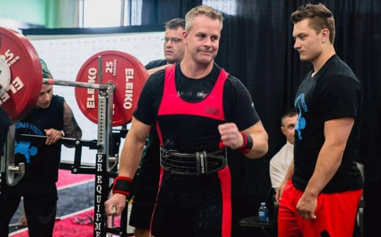 general physical preparedness on powerlifting for over 40