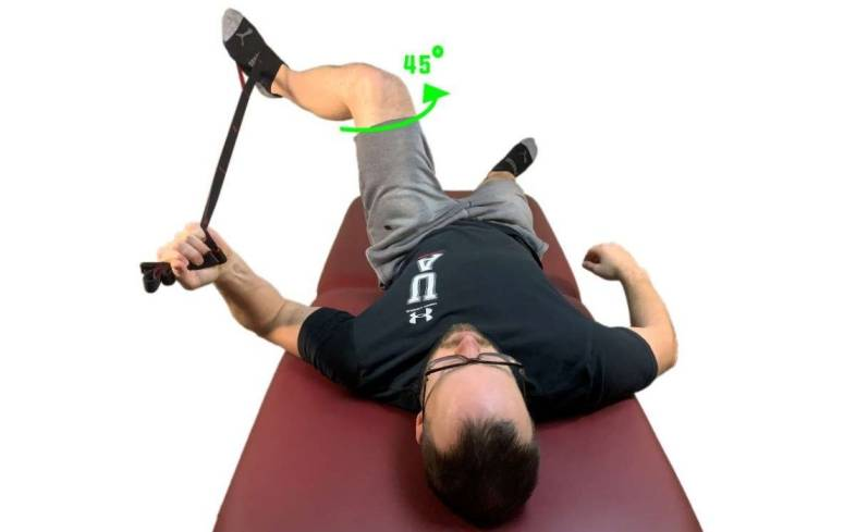 internal rotation of the hip is often the most pain-provoking position for the hip itself