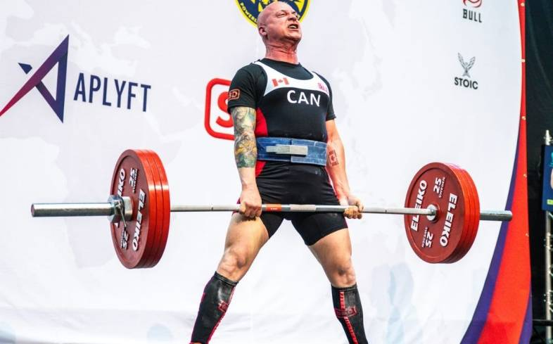 how strong do you need to be to compete in powerlifting at 60
