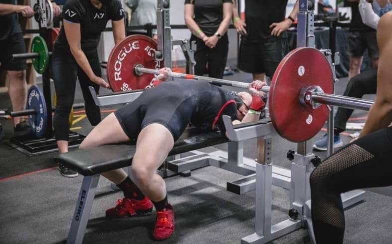 how strong do you need to be to compete in powerlifting at 40