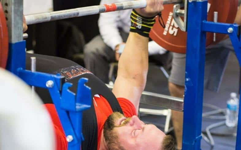 how to breathe on high reps in bench press
