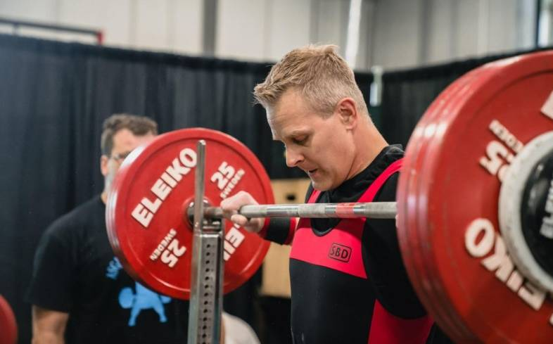 learning the technique on powerlifting for over 40