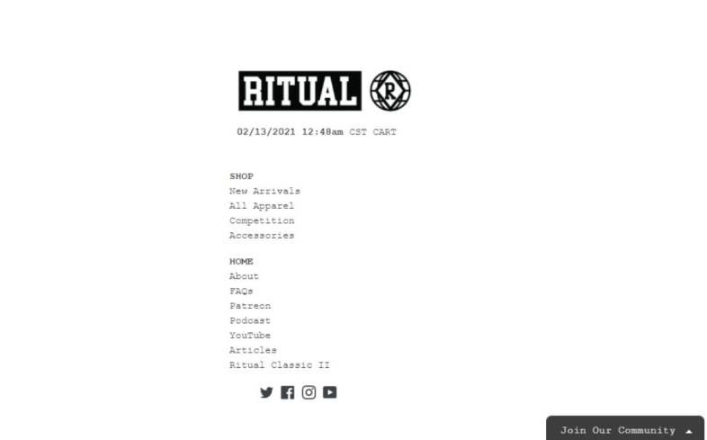 Ritual Apparel
