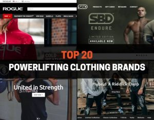 Top 20 Powerlifting Clothing Brands