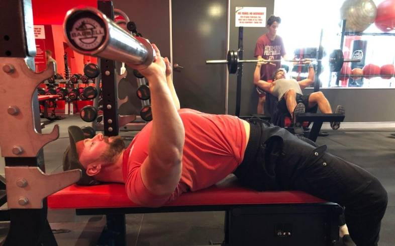 the close grip bench press is a great choice for both athletes and general fitness enthusiasts