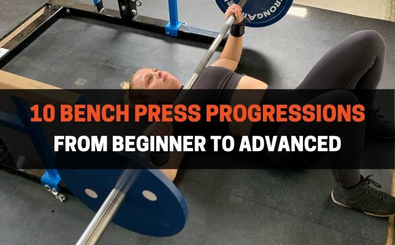 bench press progressions from beginner to advanced