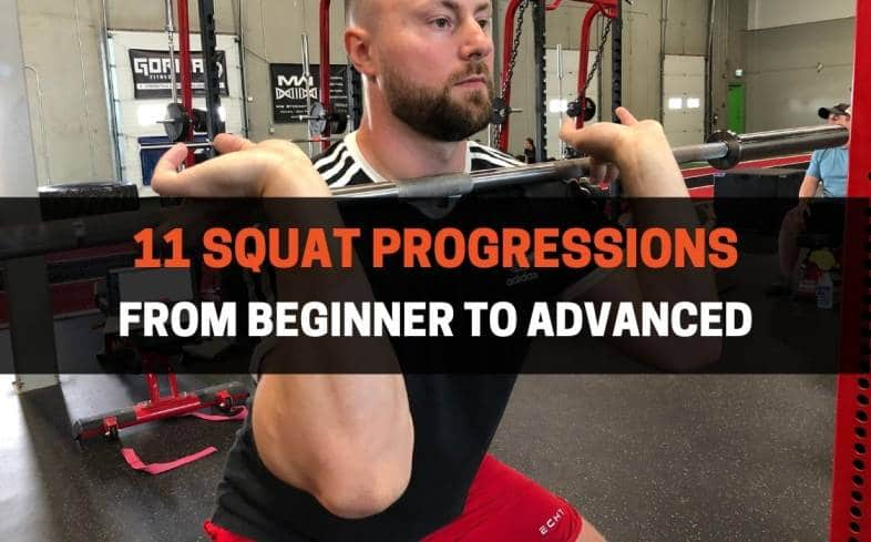 squat progressions from beginner to advanced