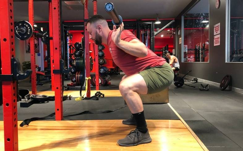 the good morning squat occurs when your quads are weak relative to your glutes