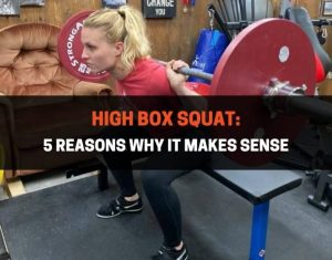 High Box Squat