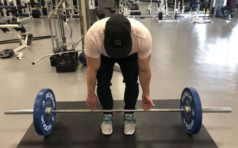 not having the bar hover over your midfoot can result in several downstream deadlift issues