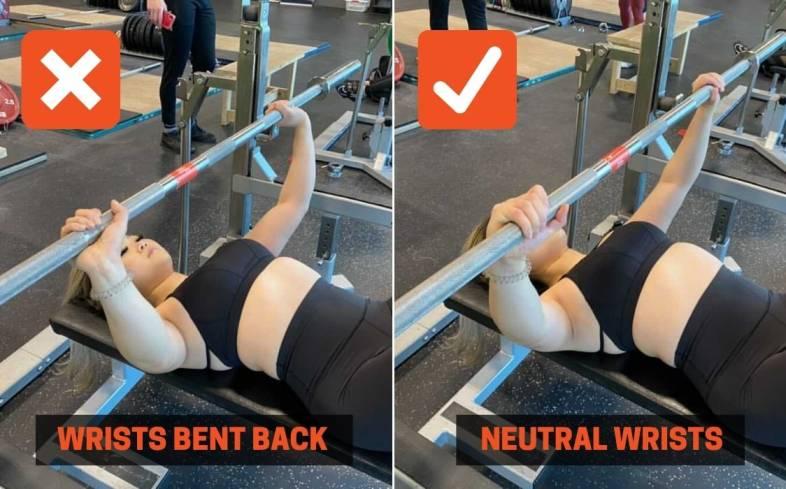 maintain a more neutral wrist position