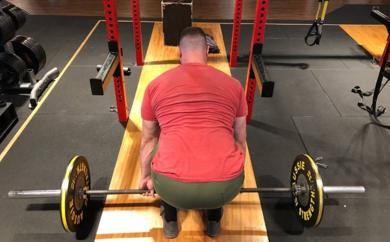 a common mistake is ignoring the important role your upper body plays in executing a strong deadlift