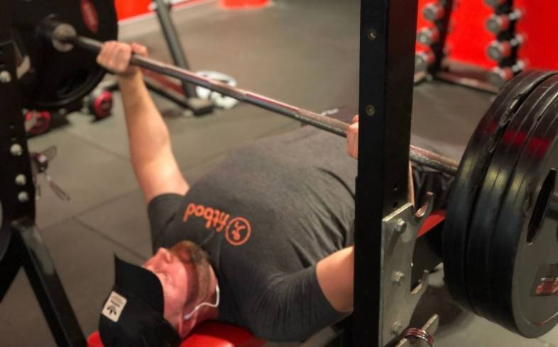 the lift off of a bench press is the phase where you unrack the bar and get it to the start position