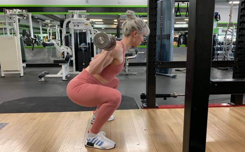 not using your glutes in squat