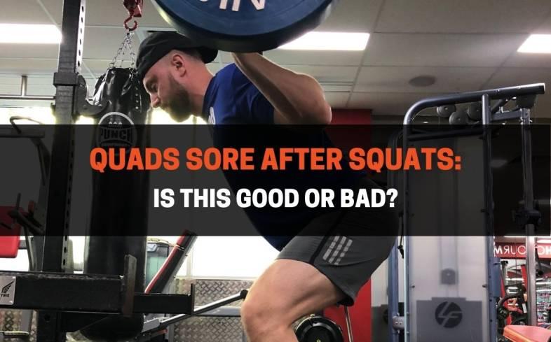quads sore after squats