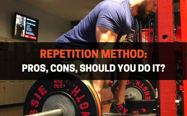 the repetition method is repeating a lift or exercise for many reps in order to induce a hypertrophic response in the muscle