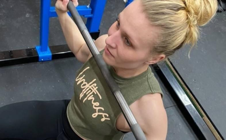 roll bar and establish grip