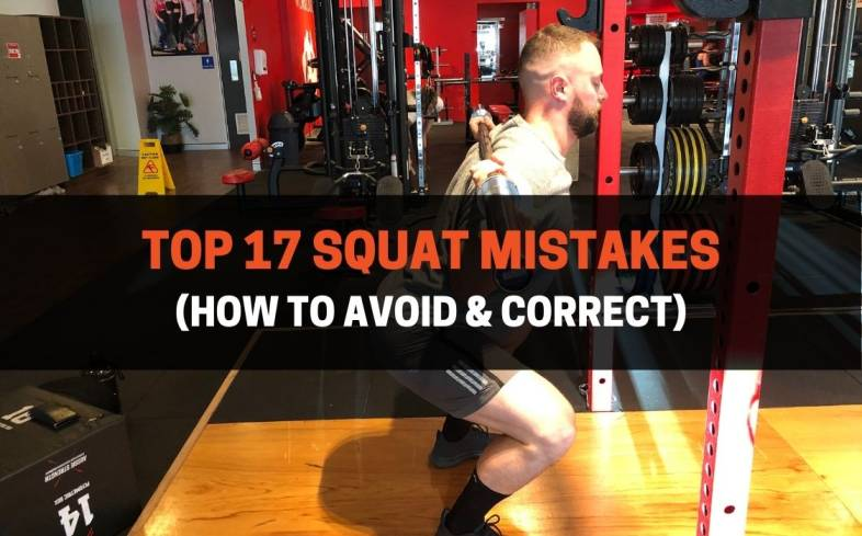 how to avoid and correct top squat mistakes