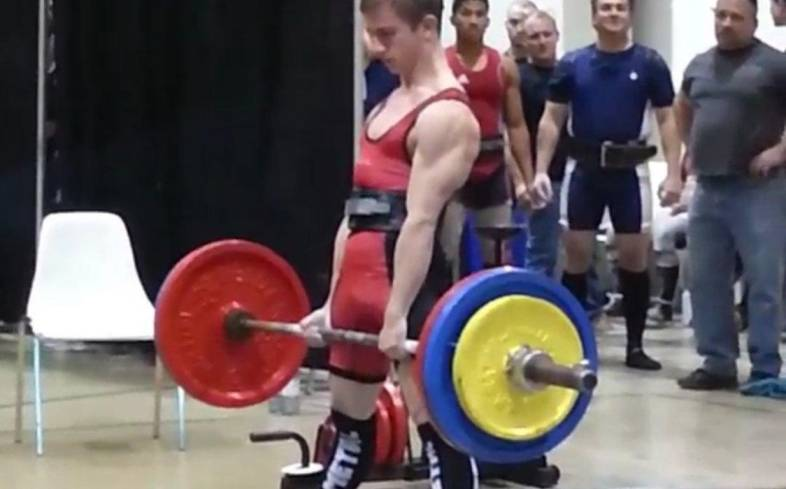 the average deadlift for a 16 year old