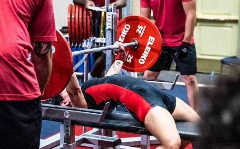 the bench press arch