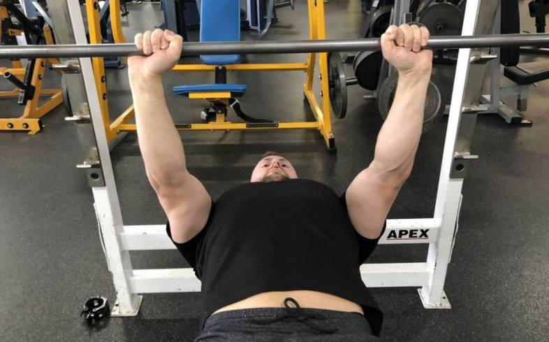 the close grip bench press is fantastic for building lockout strength