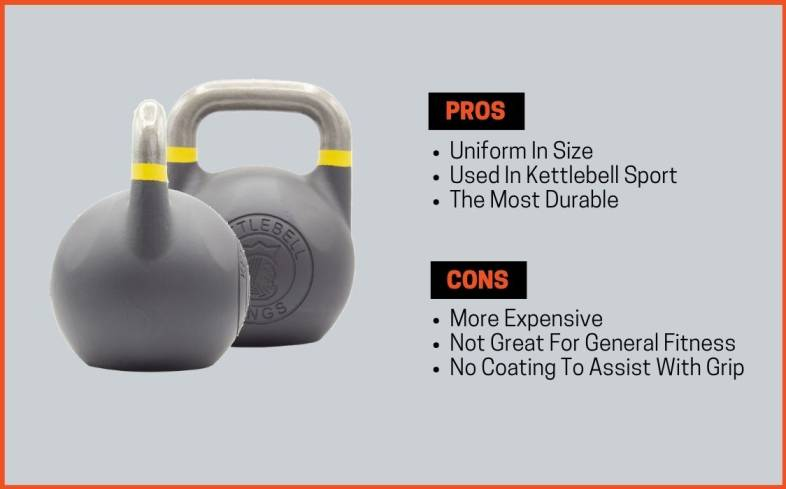 competition kettlebell pros and cons