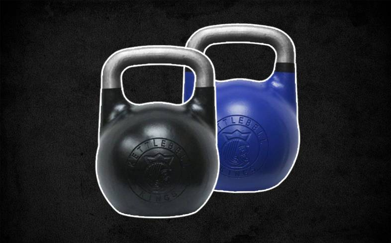 Competition kettlebells are made of pure steel which is the most durable material