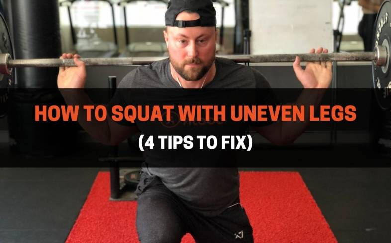 how to squat with uneven legs and tips to fix it