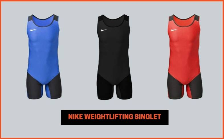 key features and benefits of nike weightlifting singlet