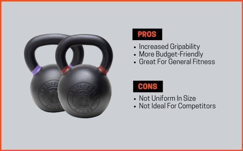 powder coat kettlebell pros and cons